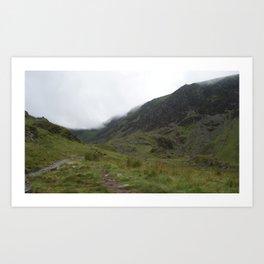 Wales Landscape 11 Cader Idris Art Print