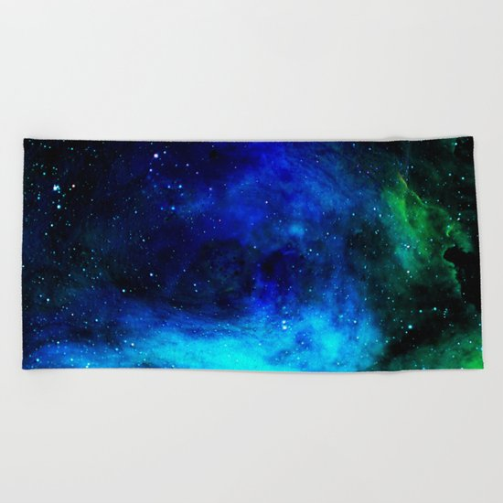 ζ Tegmine Beach Towel