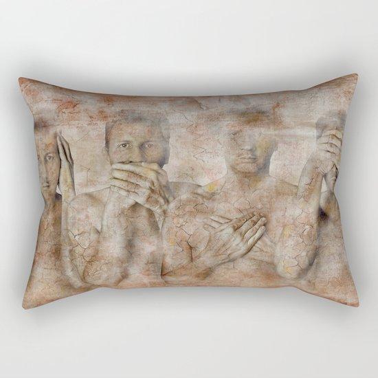 hidden ! Rectangular Pillow
