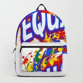 Rainbow Pride Equality LGBT Backpack