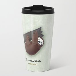 Binny the Sloth by leatherprince Travel Mug
