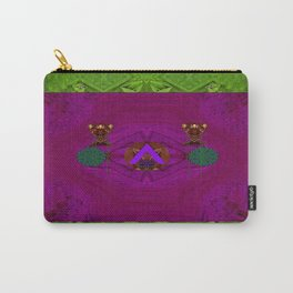 Lady Panda In Troll Wood Carry-All Pouch