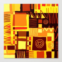 African feel Canvas Print