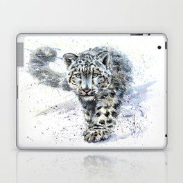 snow leopard Laptop & iPad Skin