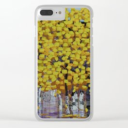 Hello Autumn 2 Clear iPhone Case