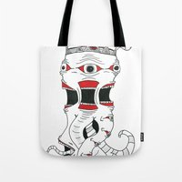 lost in translation Tote Bags featuring Lost In Translation by JaydenR