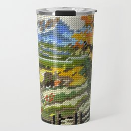 Found Tapestry Landscape Travel Mug