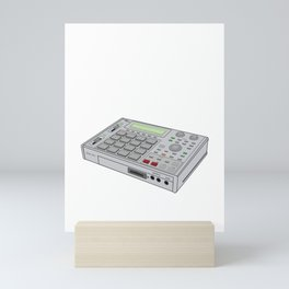MPC Music Producer design Mini Art Print