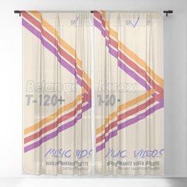 Betamax Sheer Curtain