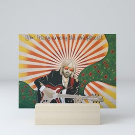 Wildflowers (Tom Petty Tribute Mural, Gainesville) Mini Art Print