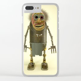 Rusty Robot - NR. 29 Clear iPhone Case