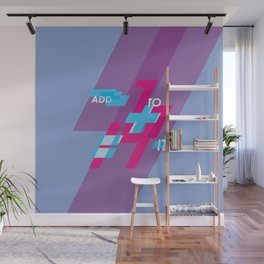 Graphic Poster #14 - Add To it Wall Mural