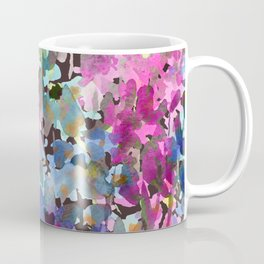 Little Blue Delphiniums Coffee Mug