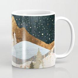 Winter Stars Coffee Mug