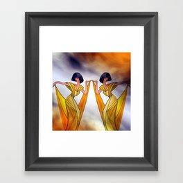 discofever -23- Framed Art Print