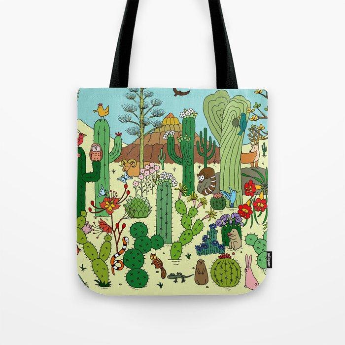 Arizona Desert Museum Tote Bag