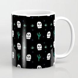 Calavera Cactus Coffee Mug