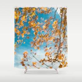 Autumn In Motion Shower Curtain