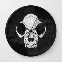 Felis Mortis - Dead Cat Wall Clock