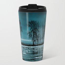 Distorted Reflections Travel Mug