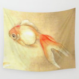 Japanese Goldfish Wall Tapestry