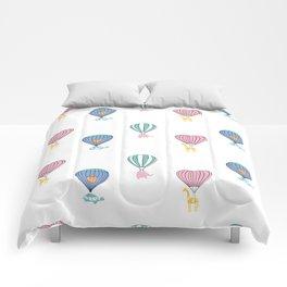 Sweet balloon dreams Comforters