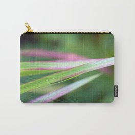 Red Baron close-up #2 #green #red #foliage #art #society6 Carry-All Pouch
