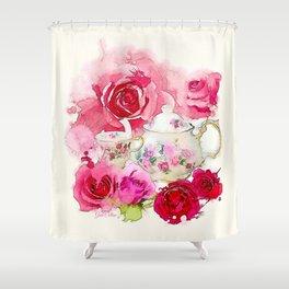 Tea 2 Shower Curtain