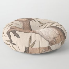 The Goat and Willow Floor Pillow