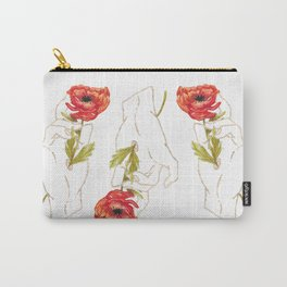 Poppy - Gold (Gilded Hands Series) Carry-All Pouch