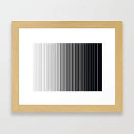 ABSTRACT LINES 2 Framed Art Print