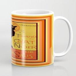 Tournee Du Chat Noir - After Steinlein Coffee Mug