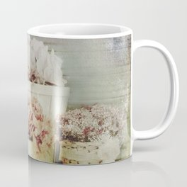 Vintage Street Flowers Coffee Mug