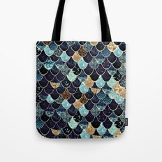 REALLY MERMAID - MYSTIC BLUE Tote Bag