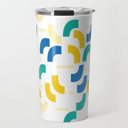 Semi-circles Travel Mug