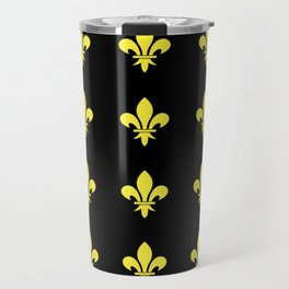 Fleur de lys 4-lis,lily,monarchy,king,queen,monarquia. Travel Mug
