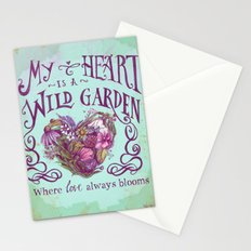 Wild Garden Stationery Cards
