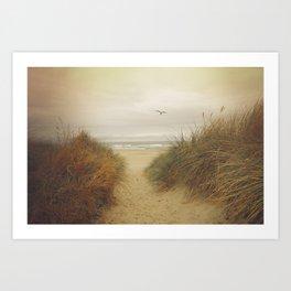 Rockaway Beach Art Print