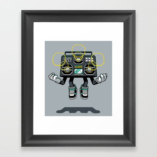 Rise And Amplify Framed Art Print