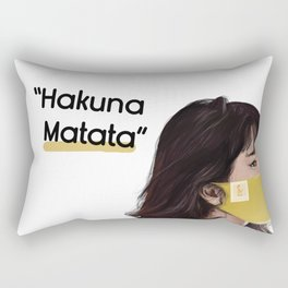 Confuse Sad Komutsu Nana Rectangular Pillow