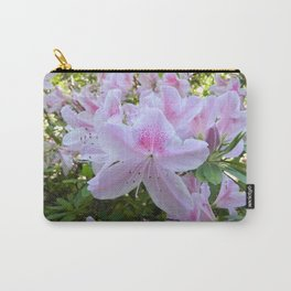 Hello Spring Flowers Carry-All Pouch