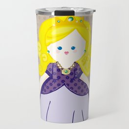 Blonde Princess Travel Mug
