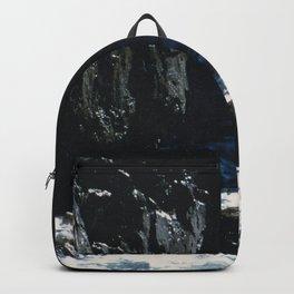 Dark Oceanic Cliff Backpack