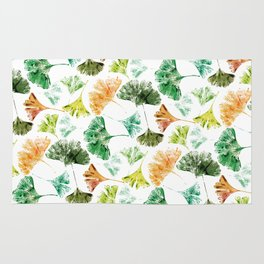 Ginkgo Leaves Rug
