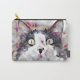 watercolor kitty Carry-All Pouch