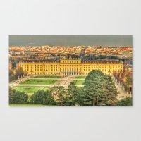vienna Canvas Prints featuring Vienna by jamesrizzi