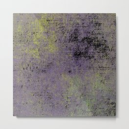 Darkened Sky - Textured, abstract painting Metal Print
