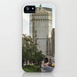 Park Avenue Midtown iPhone Case