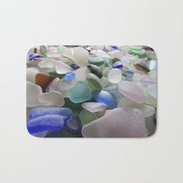 Sea Glass Assortment 6 Bath Mat