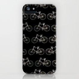 Vintage Bicycle Pattern iPhone Case